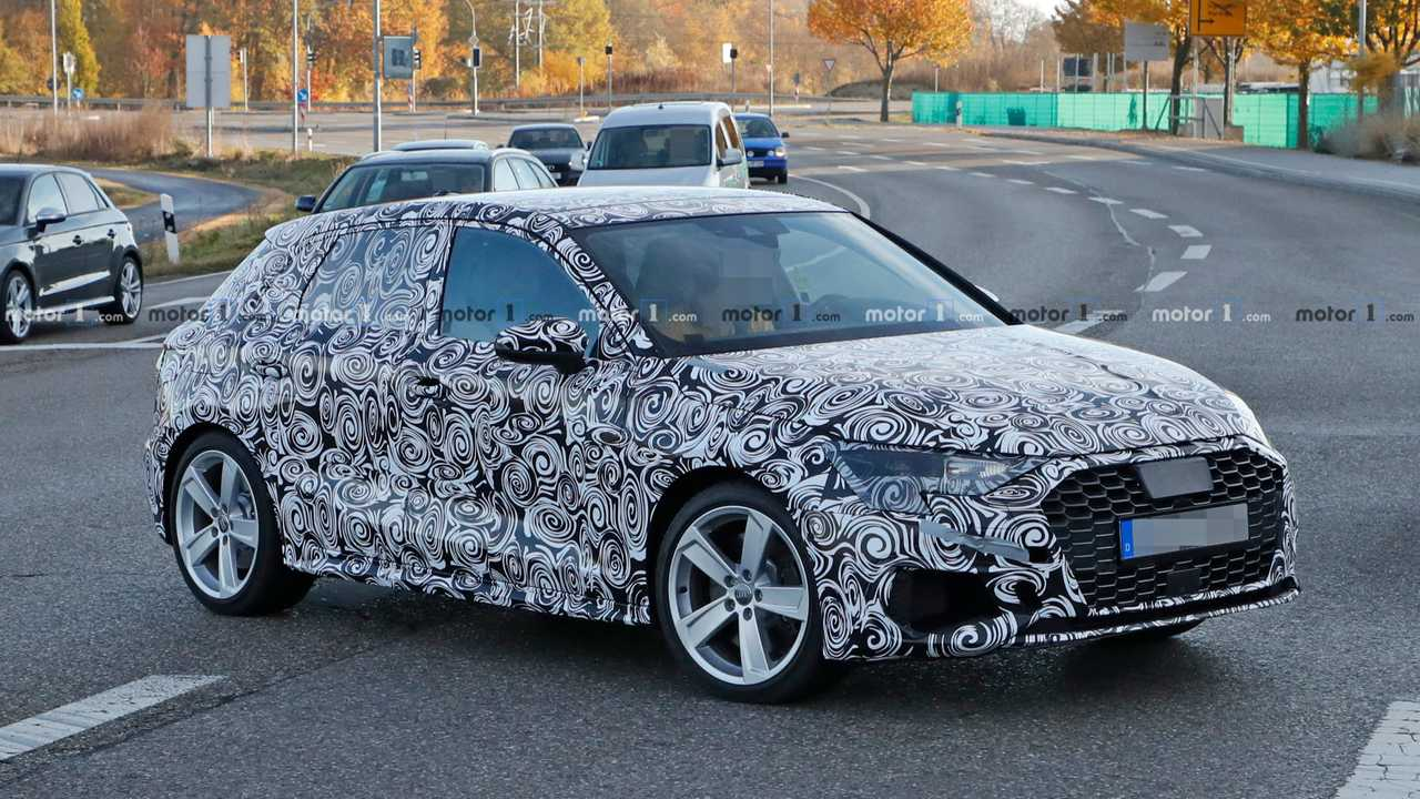 Photo espion Audi S3 Sportback
