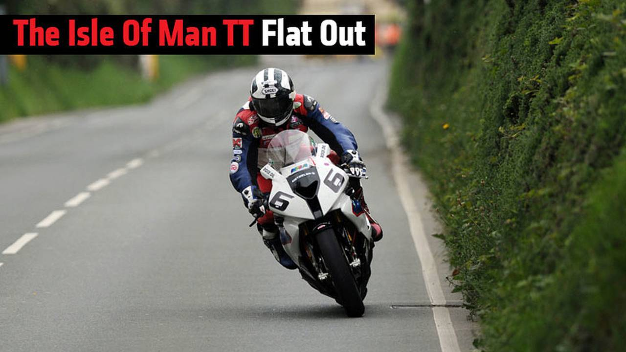 The Isle Of Man TT Flat Out