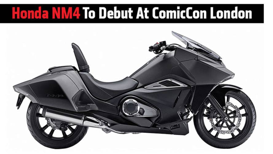 Honda NM4 To Debut At ComicCon London