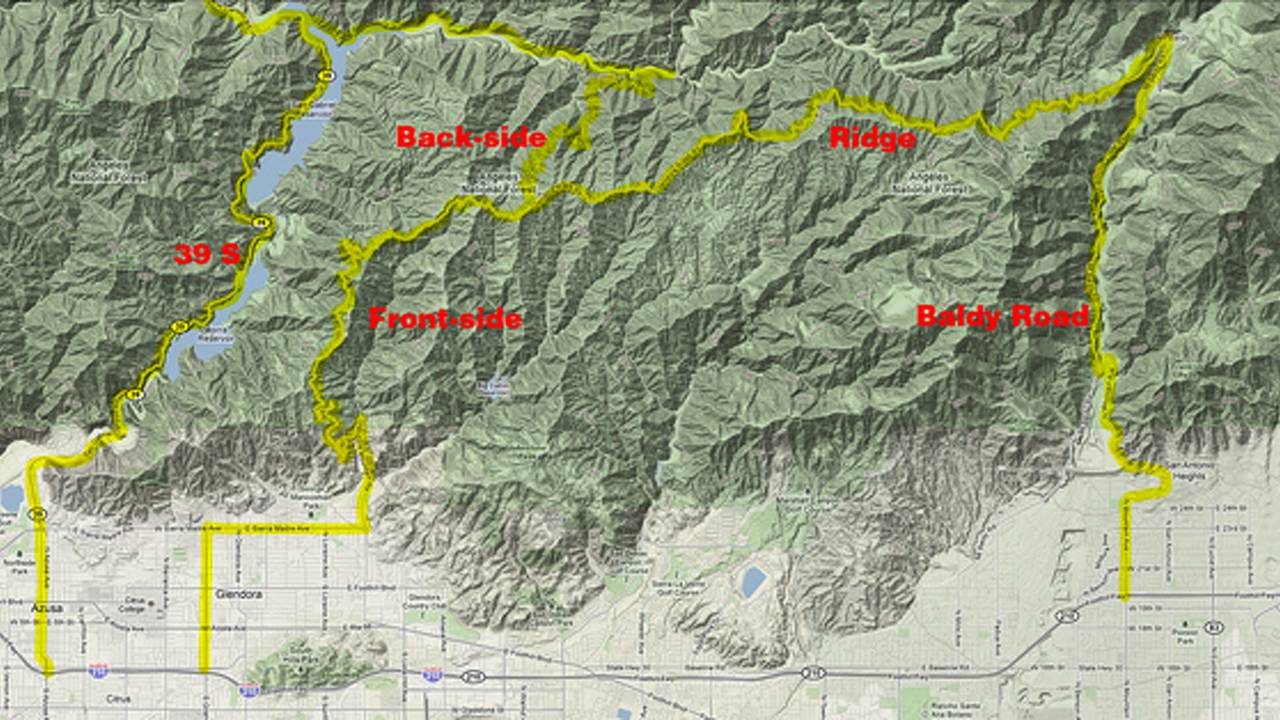 Ride: Highway 39, Glendora Mountain Road and Glendora Ridge Road