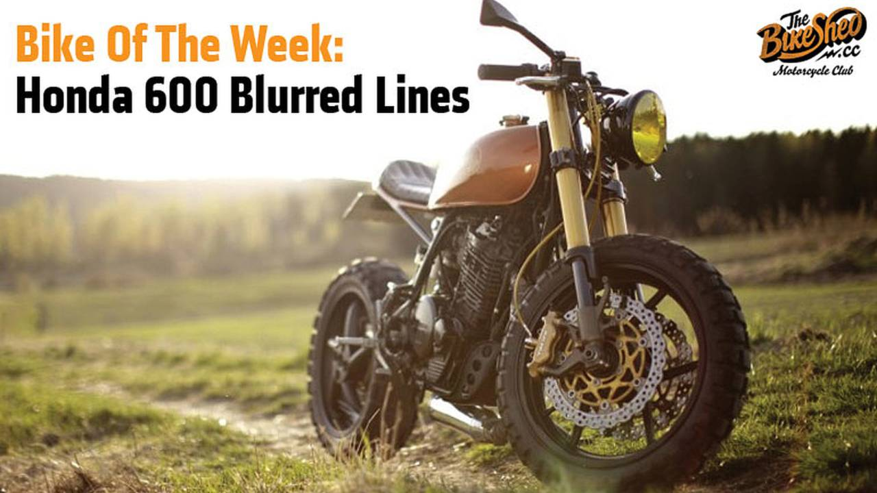 Bike of the Week: Honda 600 Blurred Lines