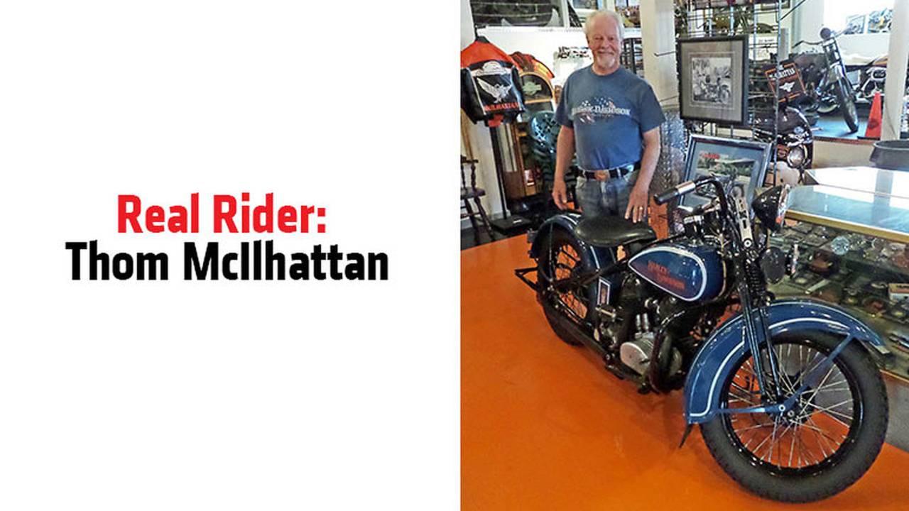 Real Rider: Thom McIlhattan