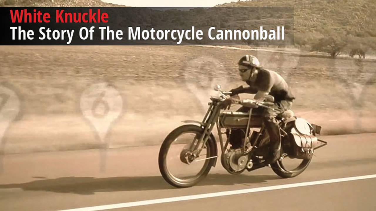 White Knuckle The Story Of The Motorcycle Cannonball