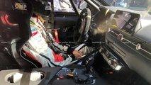 Toyota Supra Race Car Spy Shots