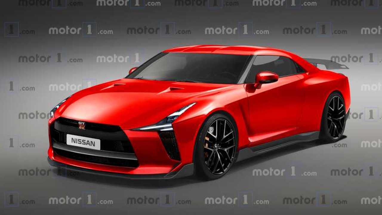 Illustration Nissan GT-R (2020)