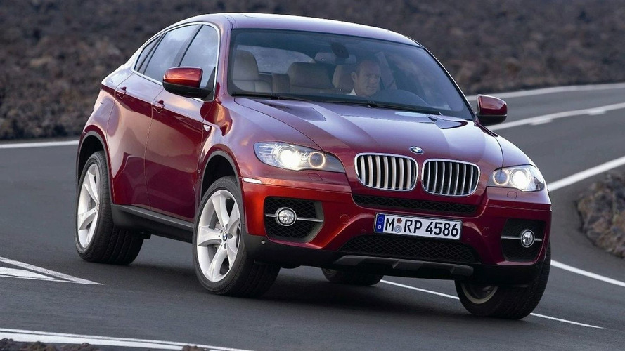 Bmw X6 Sports Activity Coupe To Debut At Detroit New V8 Twin Turbo