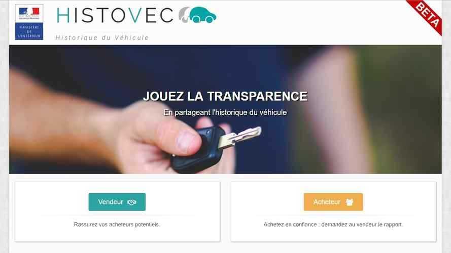 HistoVec - Découvrez (gratuitement) l'historique d'une voiture d'occasion !