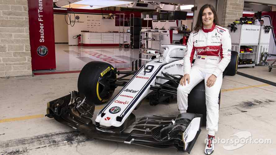 Tatiana Calderon To Get First Sauber F1 Test In Mexico