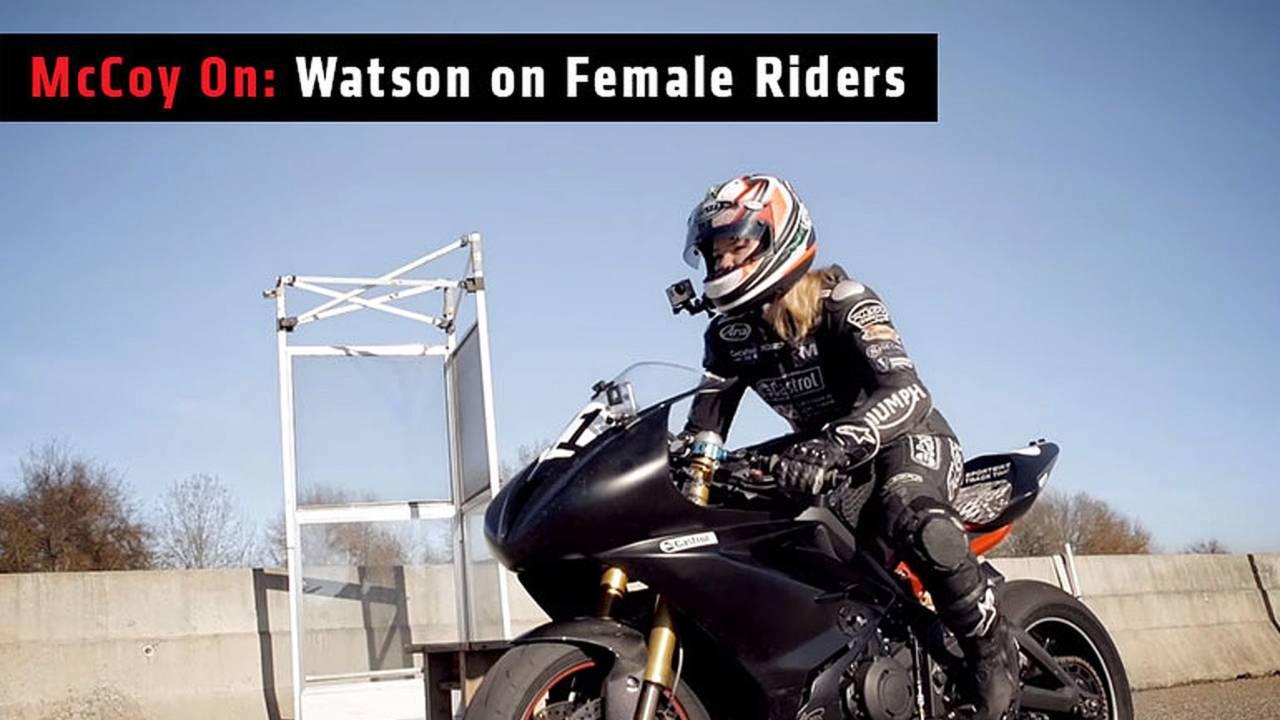 McCoy on Watson on Female Riders