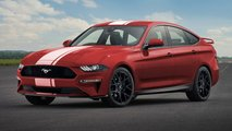 Ford Mustang Sedan tasarım yorumu