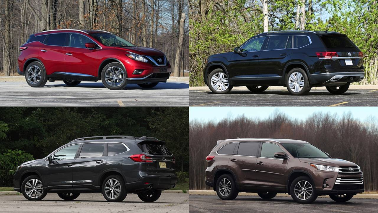Our 10 Highest Rated Suvs Of 2018
