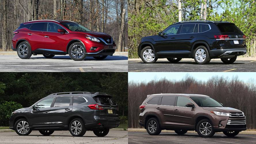 Our 10 Highest-Rated SUVs Of 2018