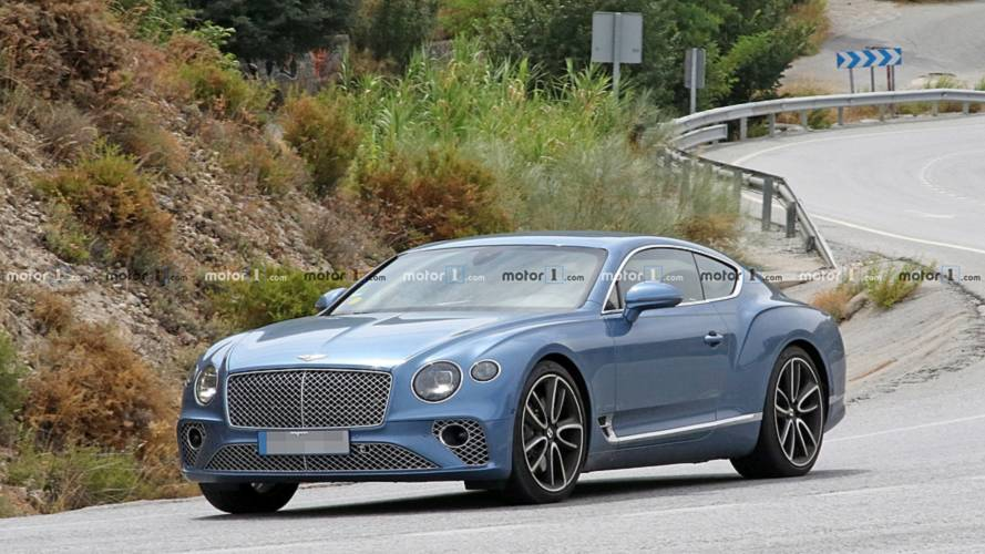Photos espion - La Bentley Continental GT hybride en approche