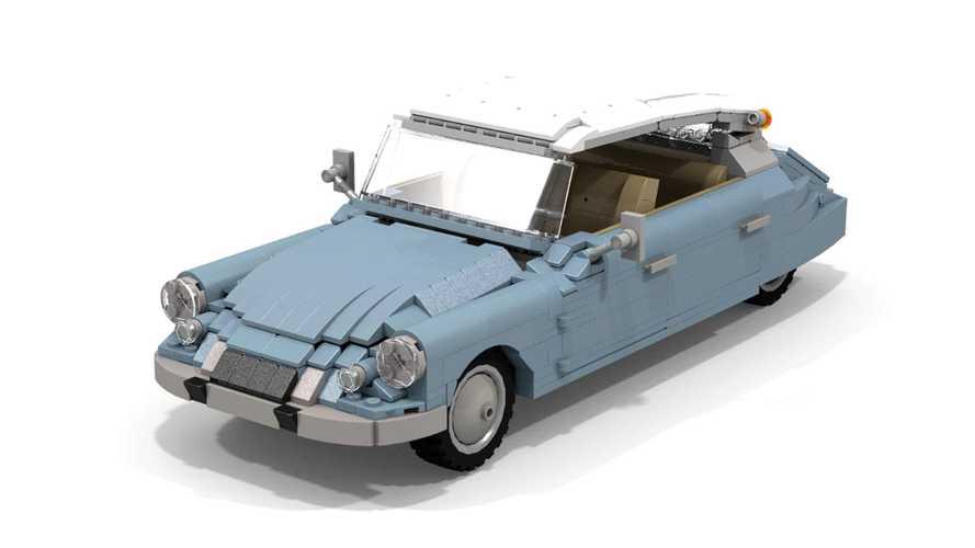 Cette Citroën DS réalisée en Lego pourrait être commercialisée