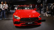 Mercedes-AMG GT 43 Four-Door Coupe at the Paris Motor Show