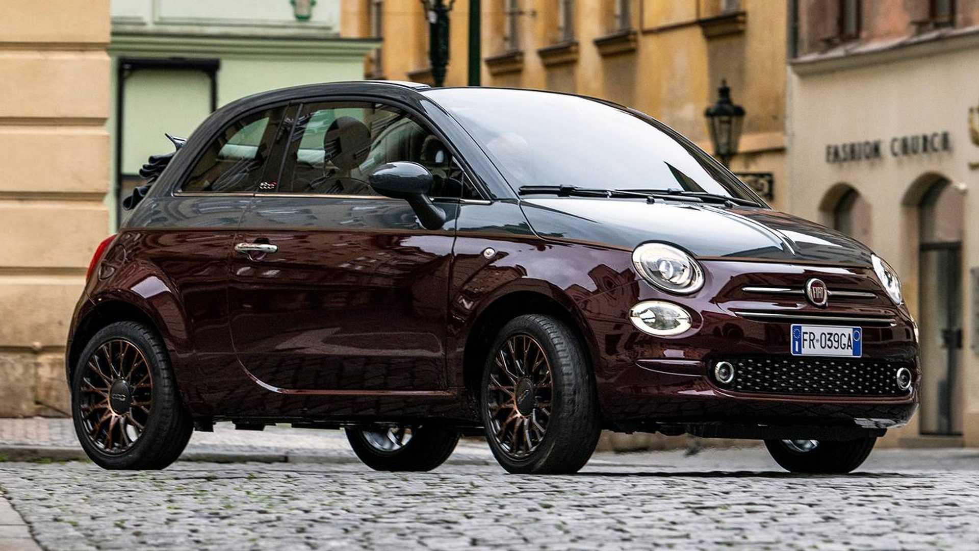 Fiat 500 Collezione Vestita Per L Autunno