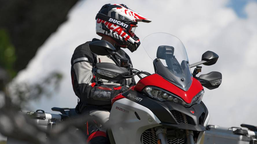 The Ducati Multistrada V4 Spotted Out For A Ride In Italy