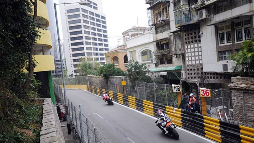 On board with Chris Peris at the Macau Grand Prix