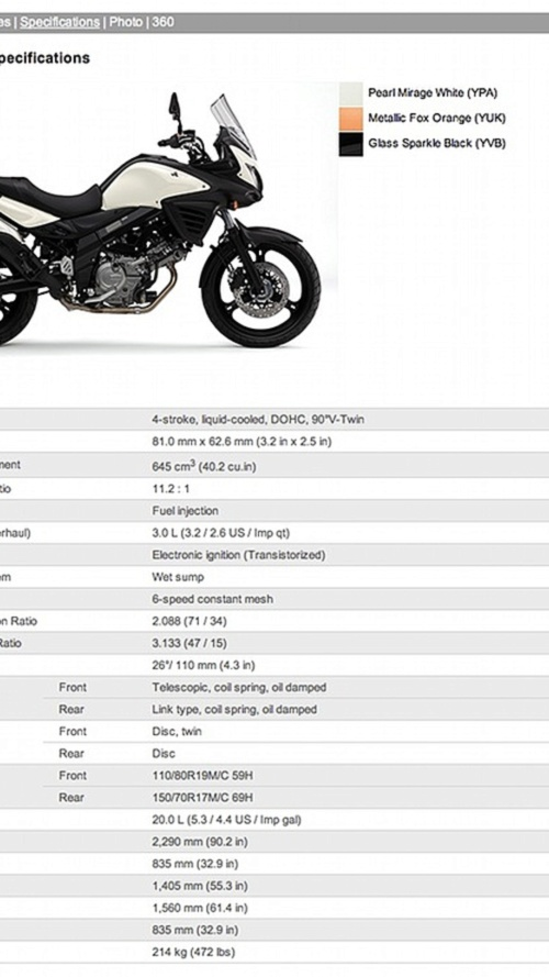 2012 Suzuki V-Strom 650: they teased this?!