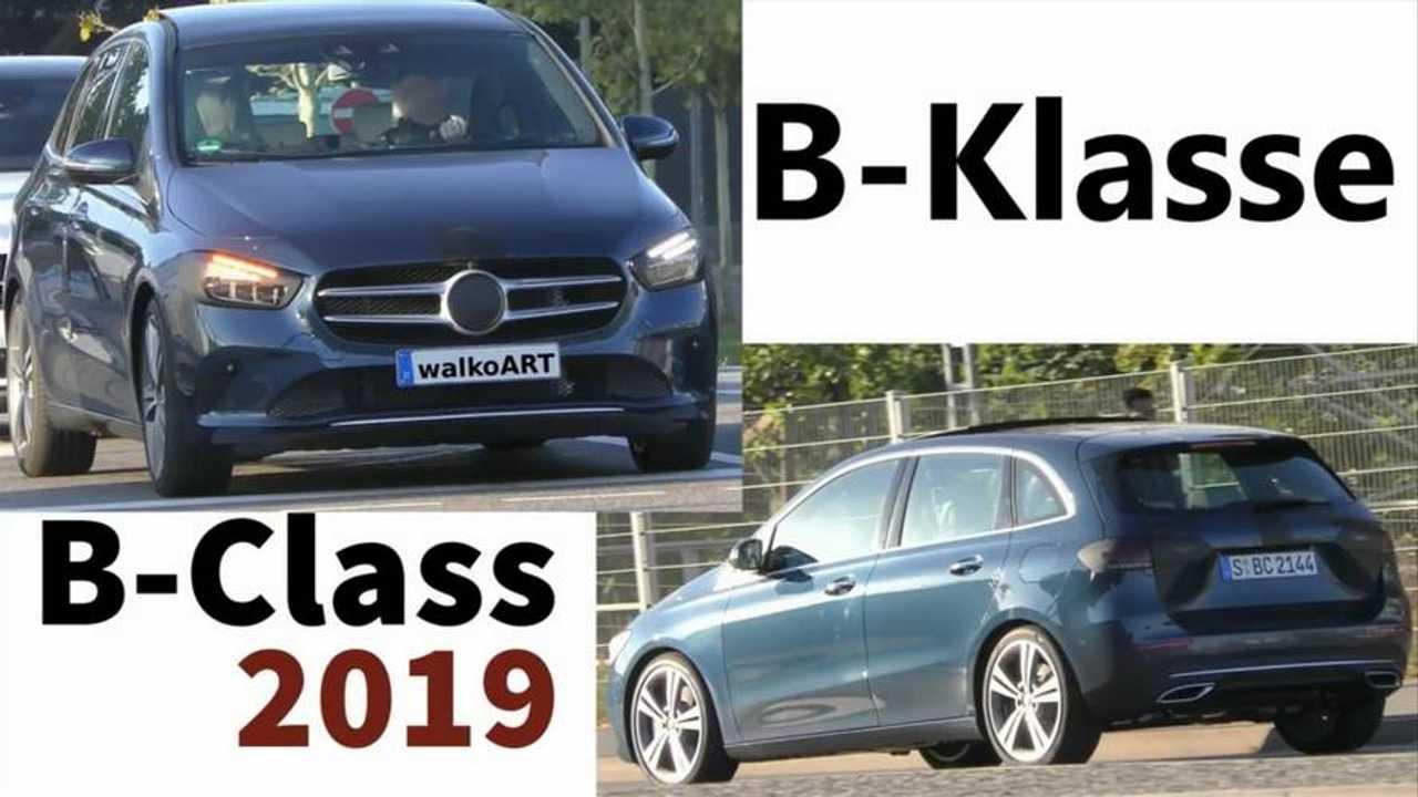2018 Mercedes B-Serisi Casus Video