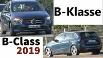 2019 Mercedes B-Class screenshots from new spy video
