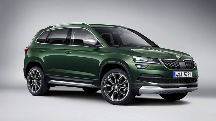 Rugged Skoda Karoq Scout revealed with standard all-wheel drive