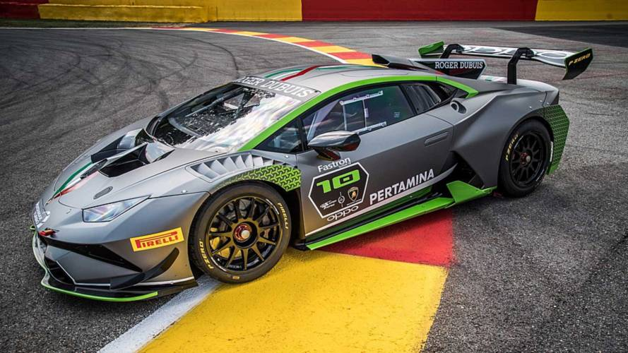 Special Lamborghini Huracan Super Trofeo Evo Marks 10 Years Of Racing