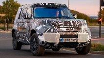 Land Rover Defender 2020 Erlkönig