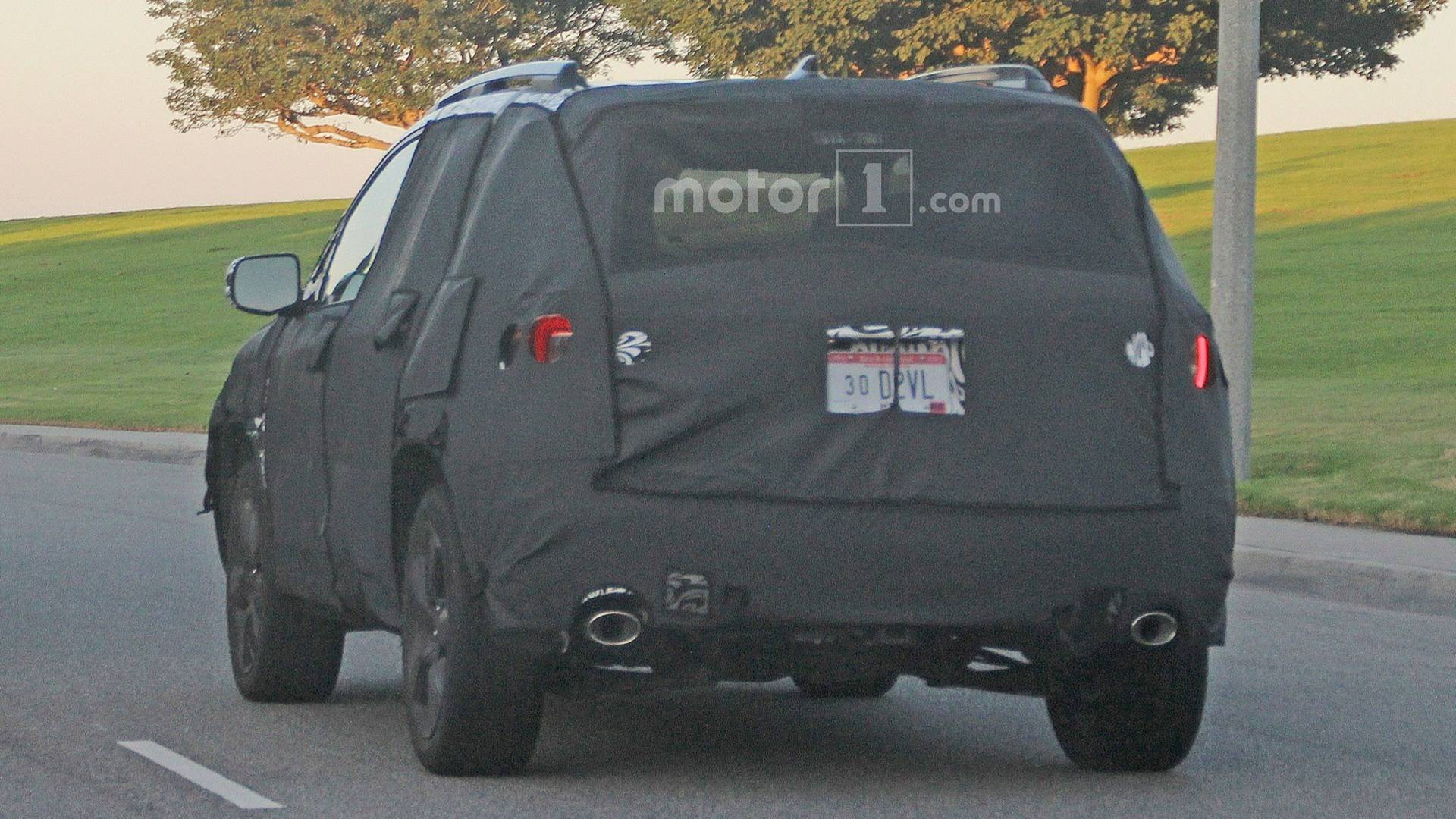 First Look New Honda Passport Suv Spied Inside And Out