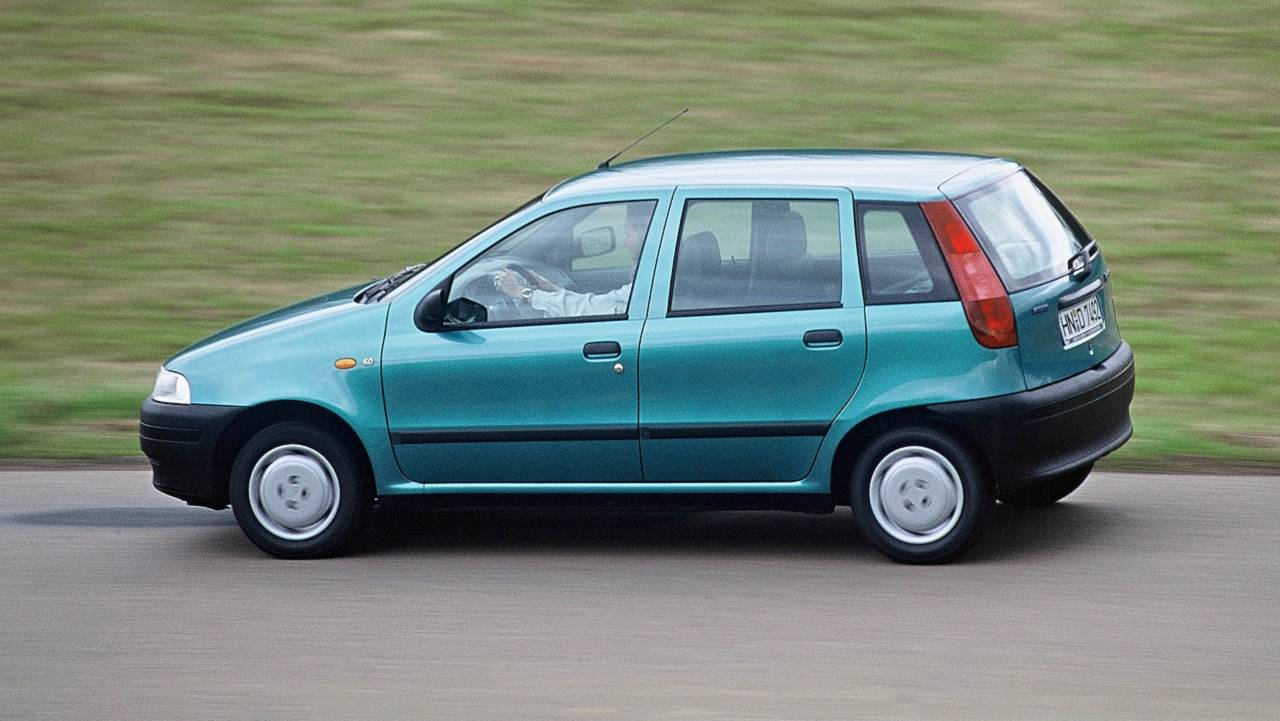 Fiat Punto - Debutto col botto