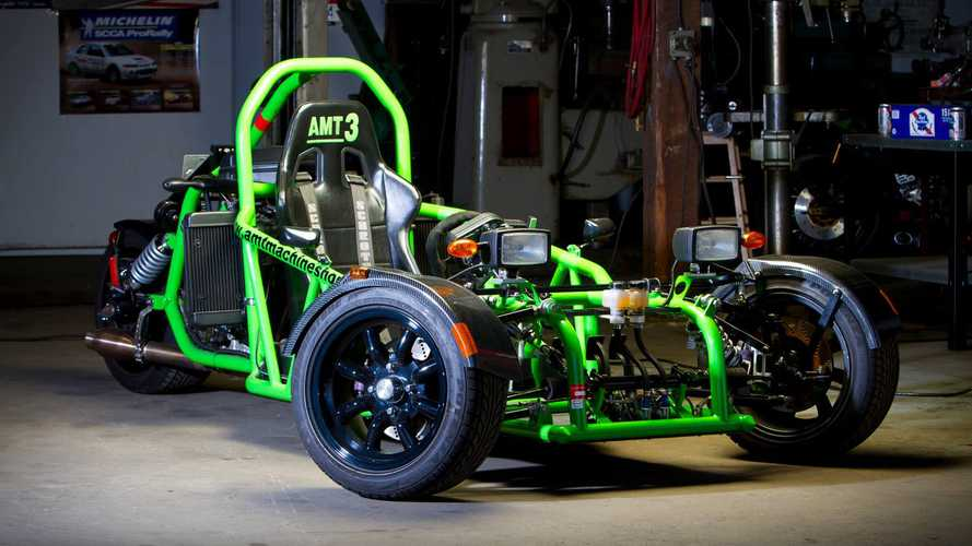 This Ninja Three-Wheeler Is So Much Fun It Should Be Illegal