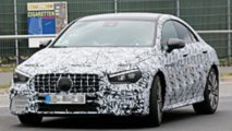 Mercedes-AMG CLA45 Spy Shots
