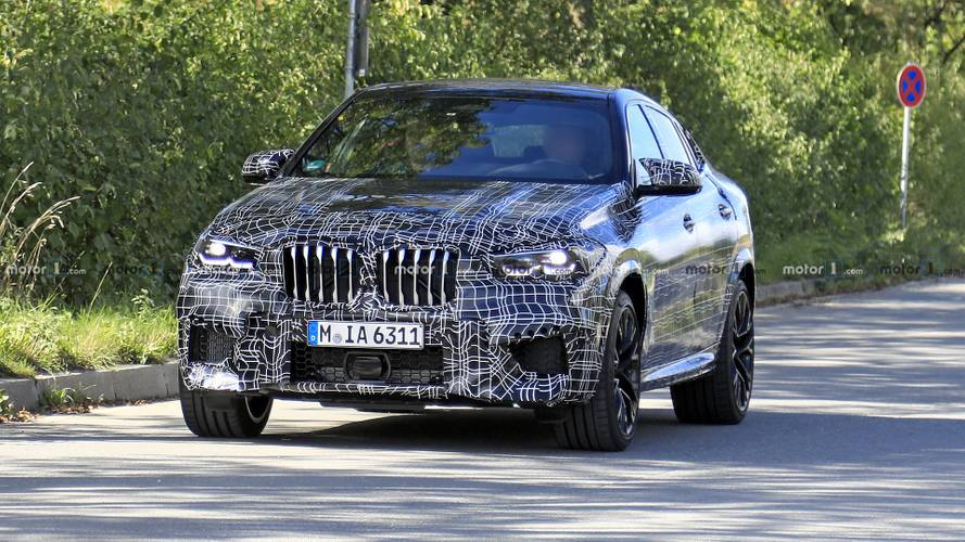 2021 BMW X6 M spy photos