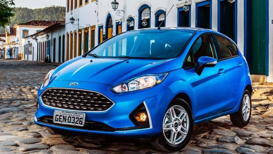 Ford Fiesta fica mais barato nas versões SE, SE Style e SEL