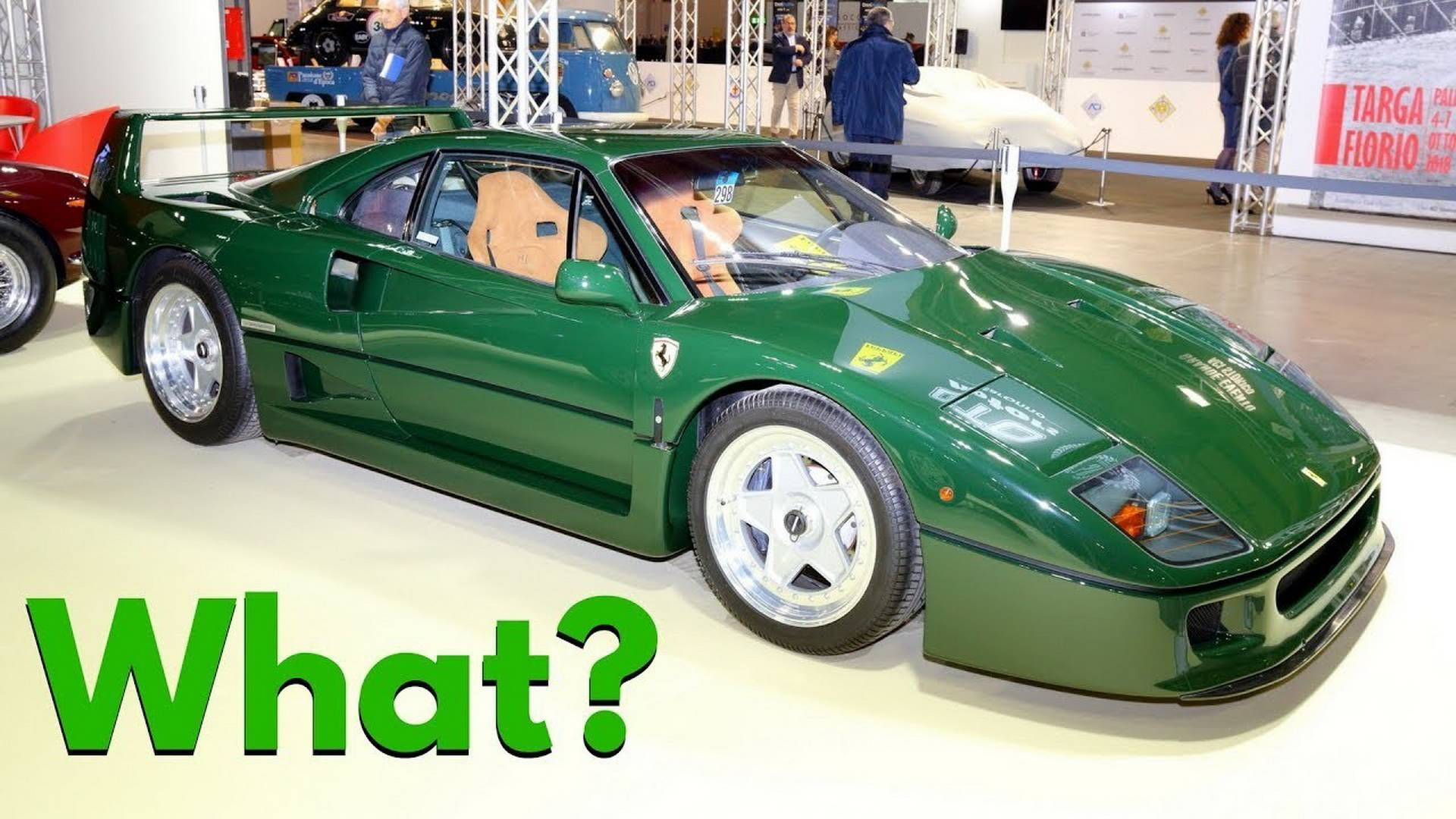Does This Ferrari F40 Make You Green With Envy