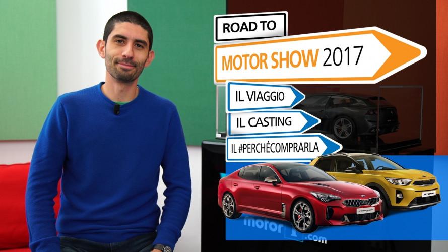 E' tutto pronto per il Road to Motor Show: ecco chi viaggerà con noi