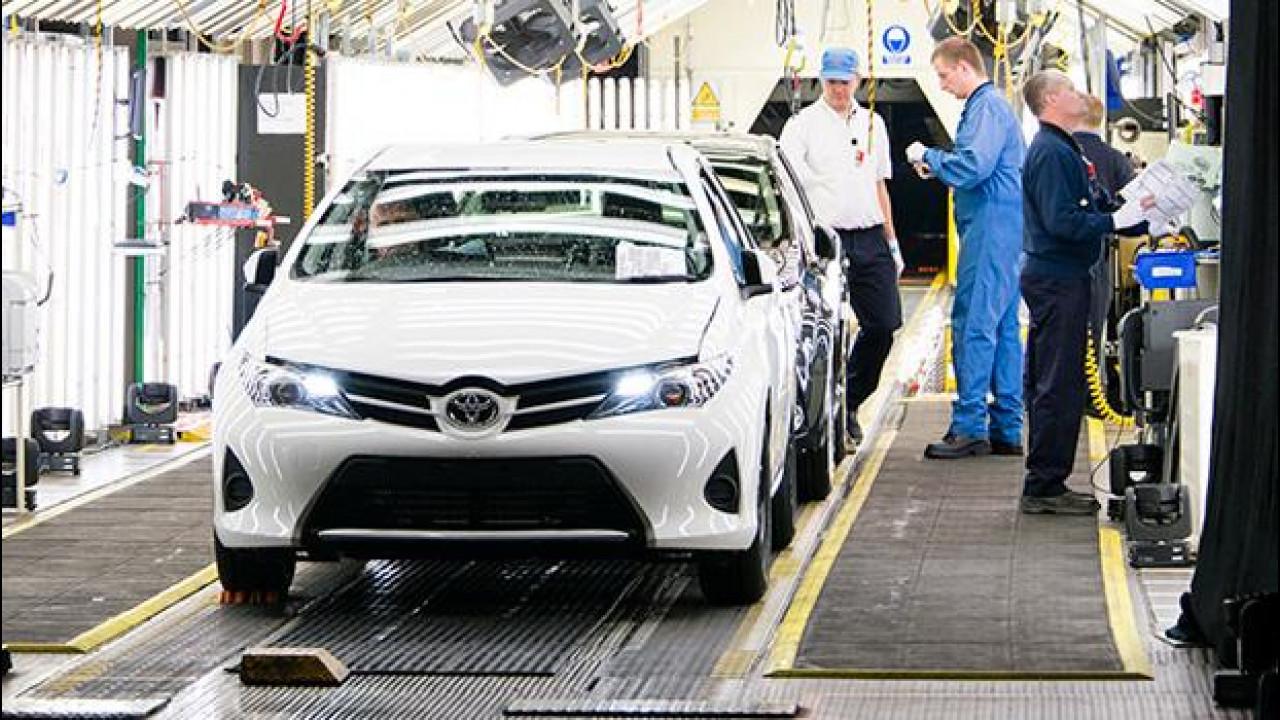 [Copertina] - Toyota resta leader mondiale, è il quarto anno di fila