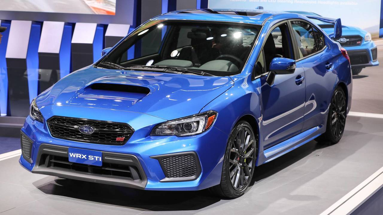 8. Subaru WRX STI: 2.5L turbocharged H4, 305 hp, 290 lb-ft