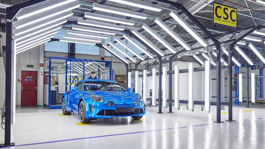 New Alpine production line inaugurated