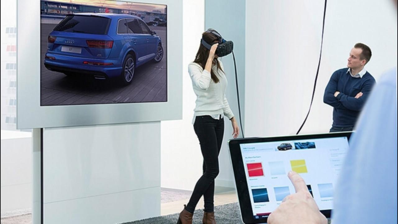 [Copertina] - Audi, nei concessionari arriva la realtà virtuale