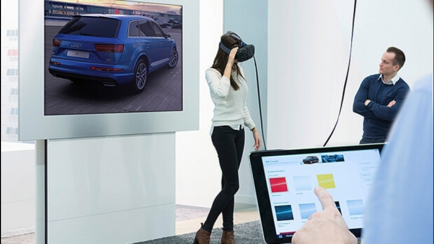 Audi, nei concessionari arriva la realtà virtuale