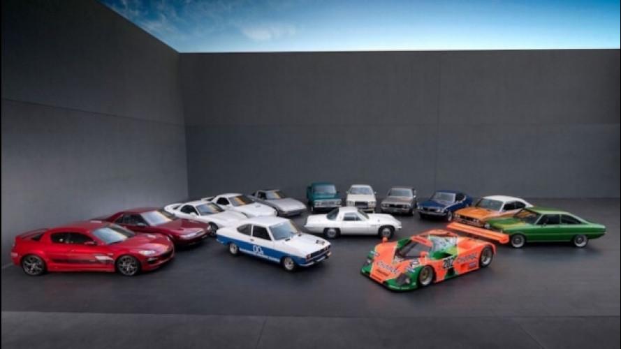 Mazda, 50 anni di motore rotativo