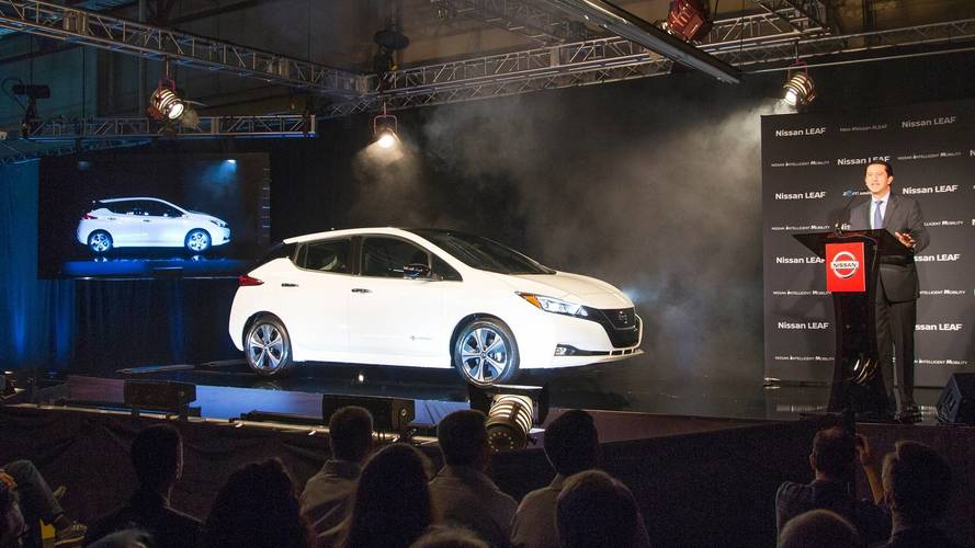 2018 Nissan Leaf Production Kicks Off In U.S.