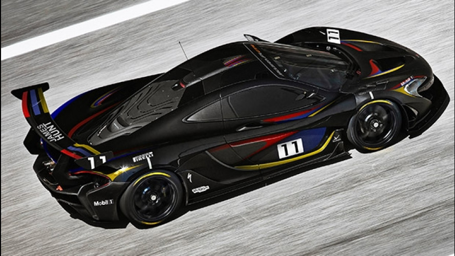 McLaren P1 GTR, omaggio a James Hunt