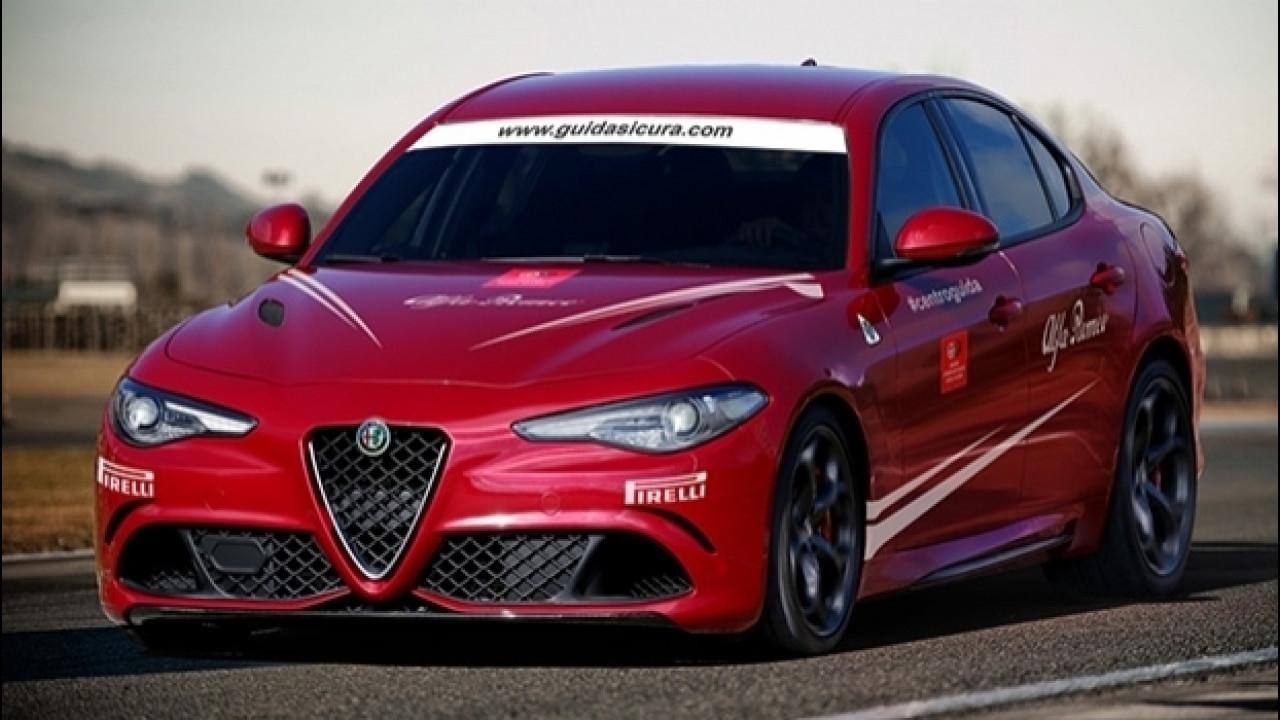 [Copertina] - Alfa Romeo Giulia, la Quadrifoglio si guida in pista