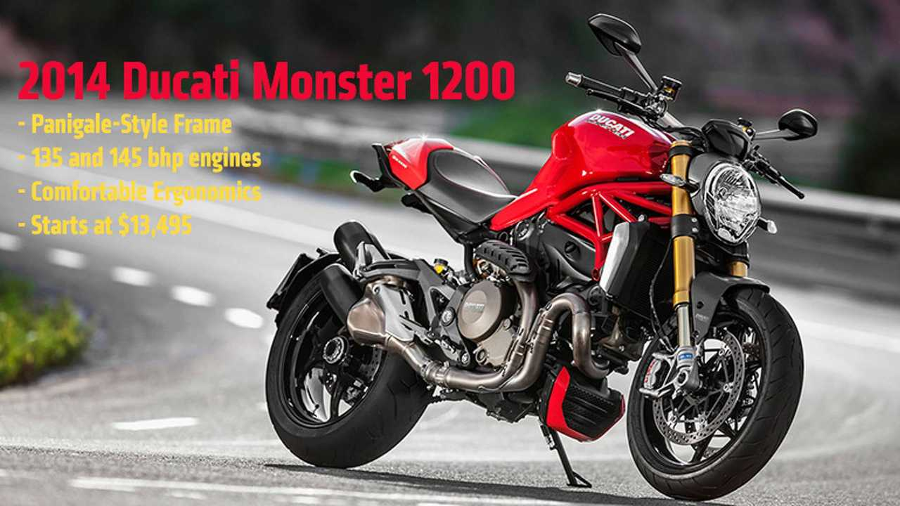 2014 Ducati Monster Feature