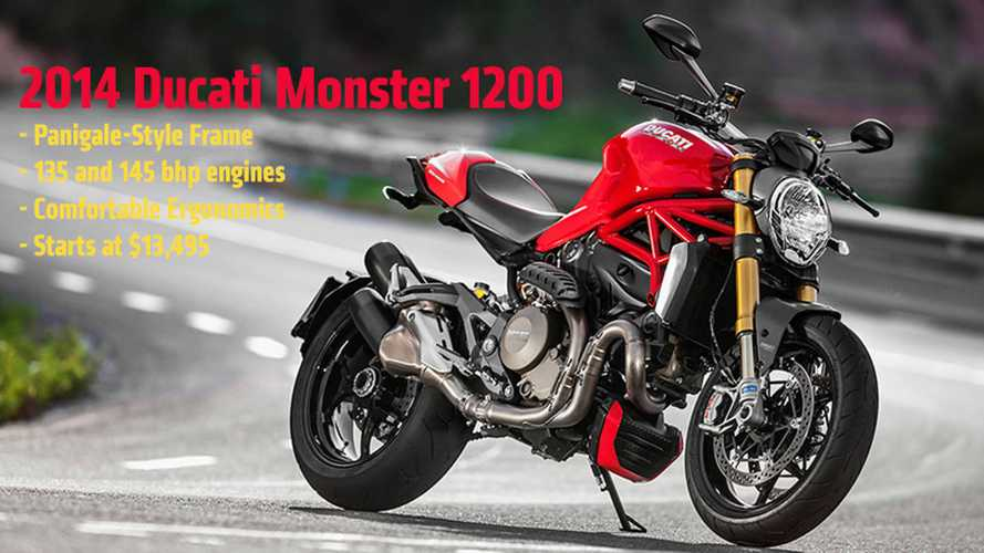 2014 Ducati Monster 1200: First Official Photos and Specs