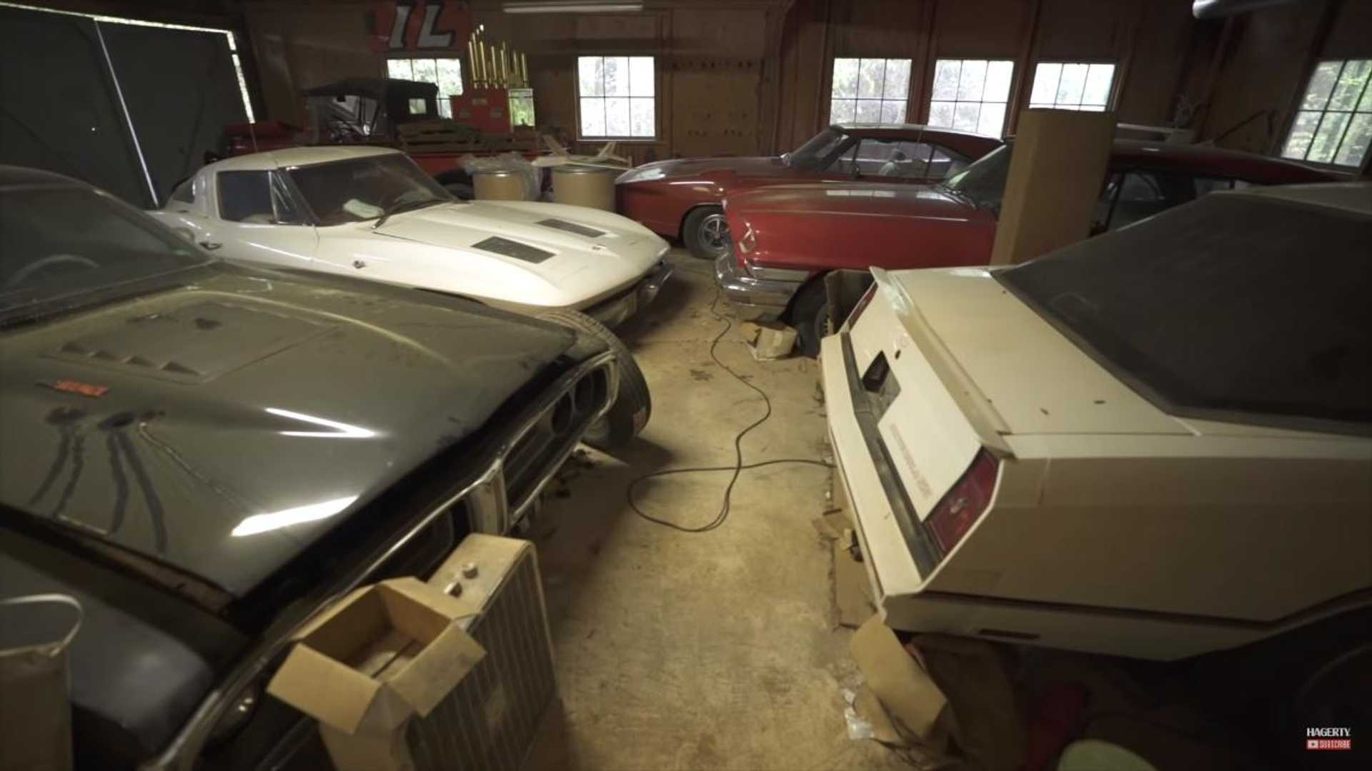 """[""""Hagerty Unearths The Ultimate Classic Car Barn Find""""]"""