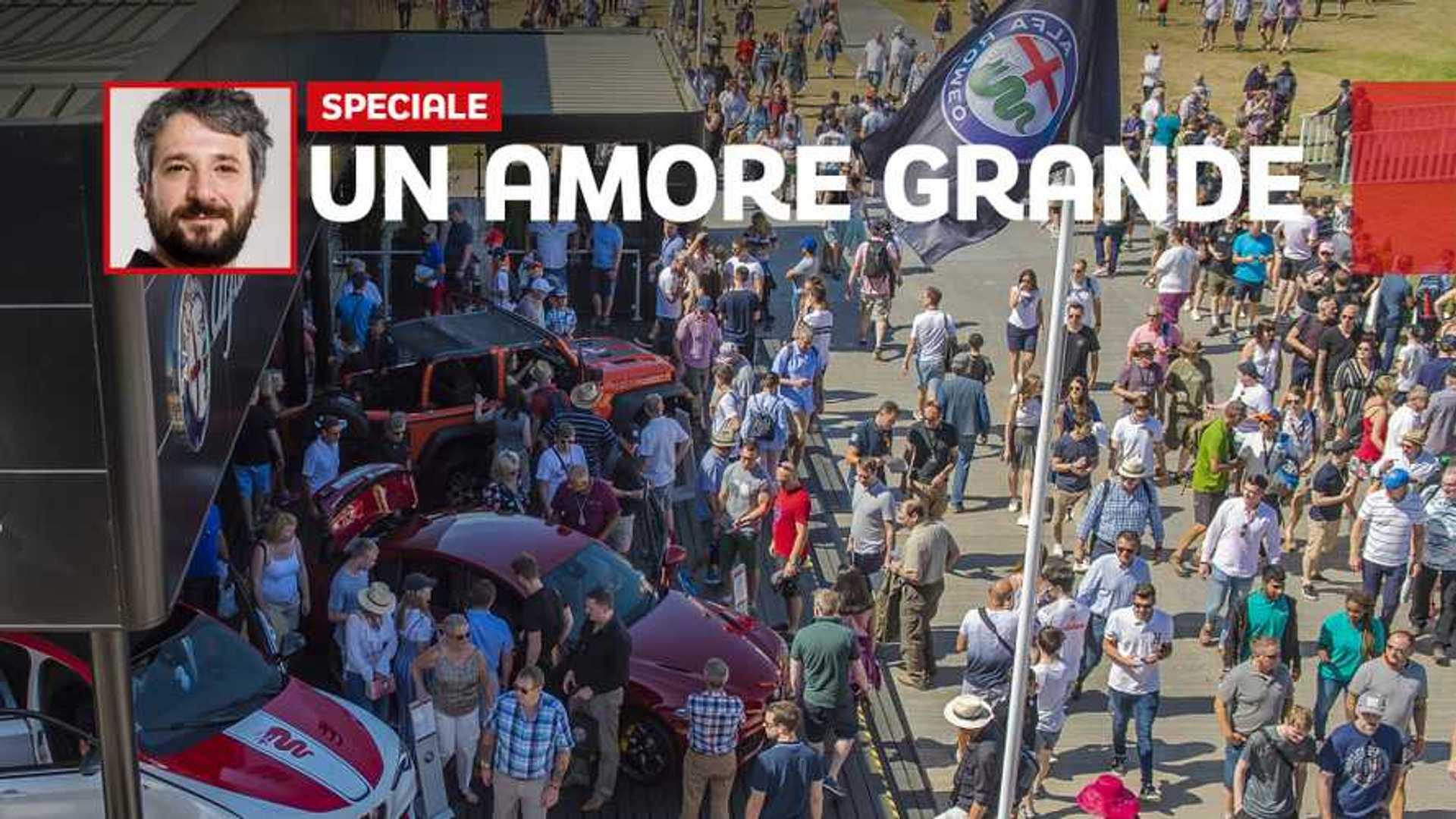 Alfa Romeo, la febbre d'amore misurata a Goodwood