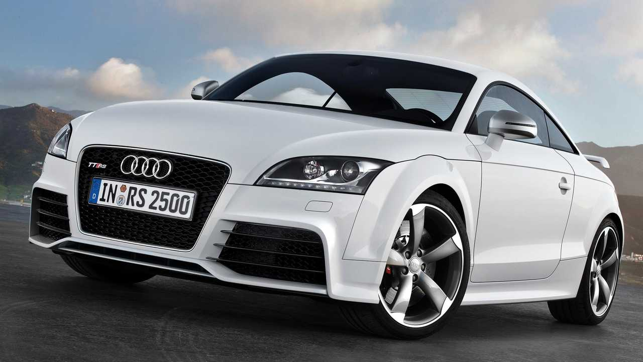 Audi TT RS Coupé e TT RS Roadster (2009)